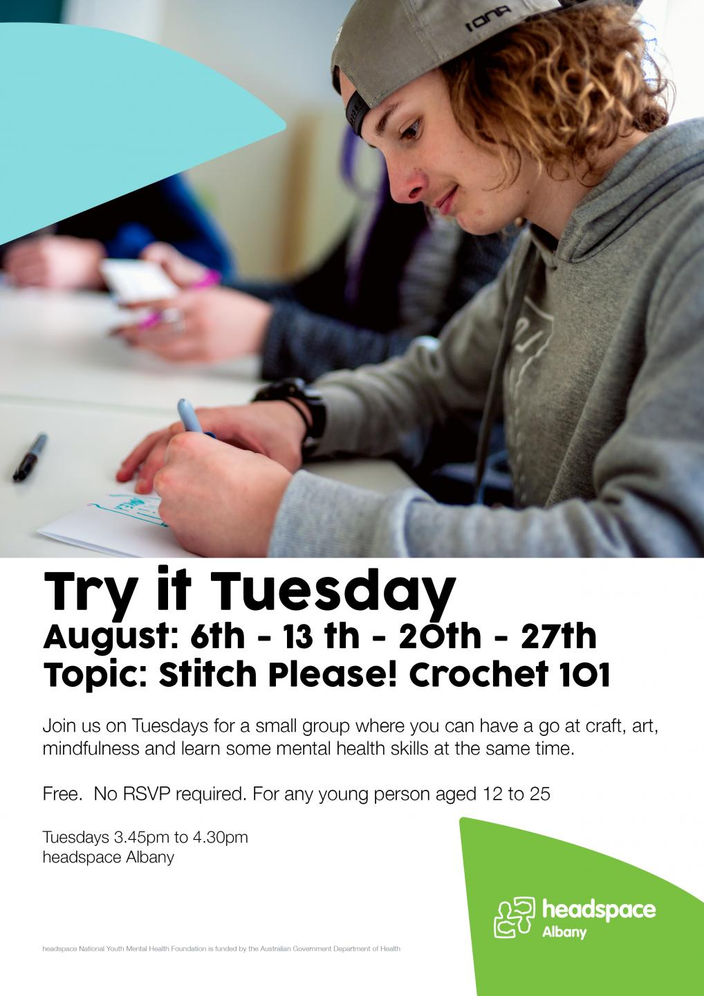 Try It Tuesday Poster 2019 August