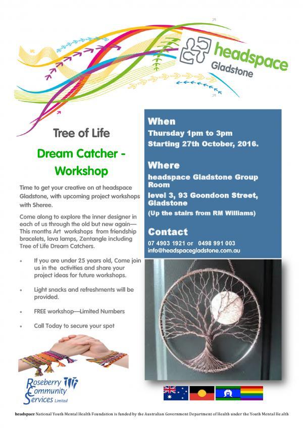 Dream Catcher Tree Of Life Workshop