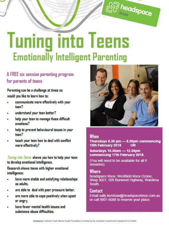 And parenting troubled teen